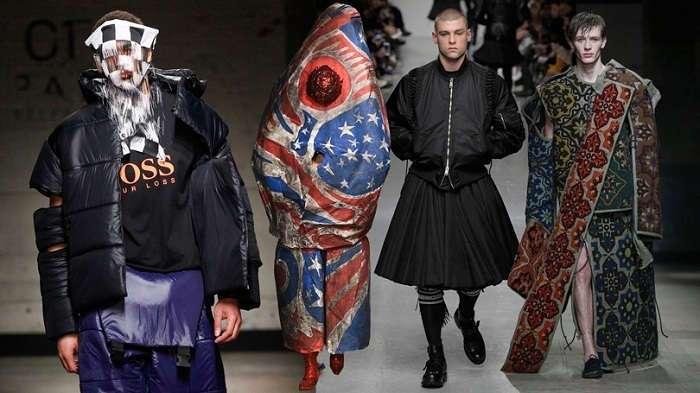 Мода, прекрати: самые эпатажные образы из мужских коллекций последних лет