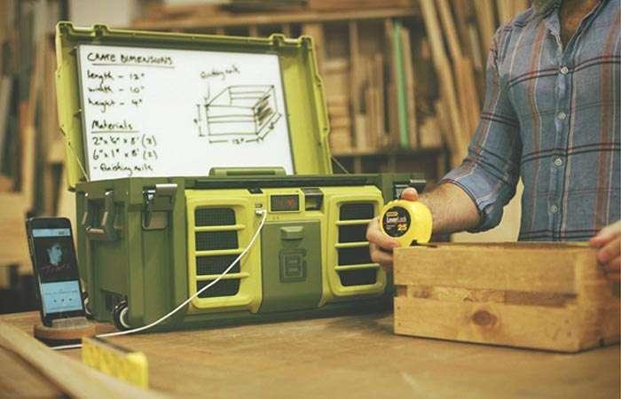 Первый в мире -умный- ящик для инструментов
