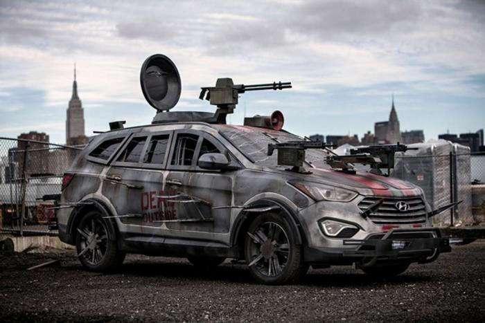5 автомобилей, которые не дадут протянуть ноги в случае зомби-апокалипсиса