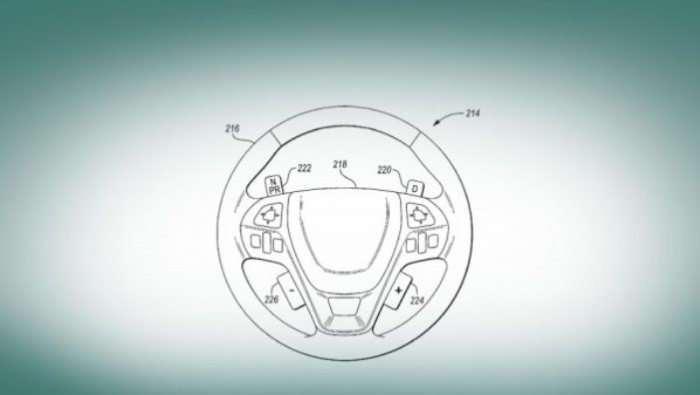 Ford переносит управление коробкой переда на руль авто