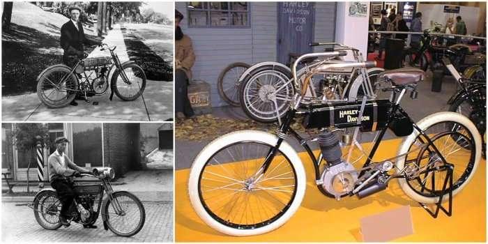 Harley-Davidson: первый -моторный велосипед-, с которого начинался легендарный бренд