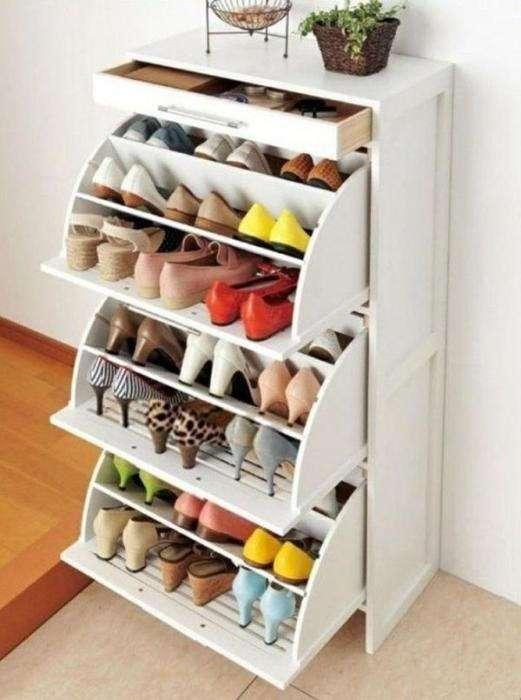 Оригинальные идеи для хранения обуви, которые помогут преобразить интерьер прихожей