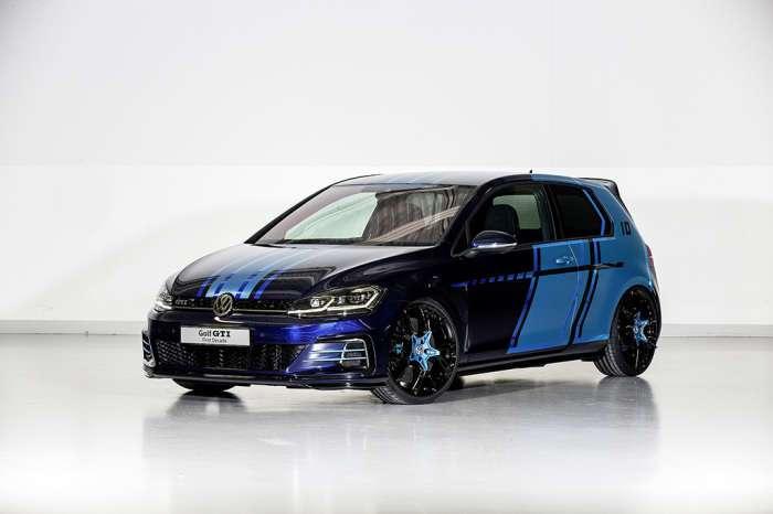 Golf GTI - первый гибридный -заряженный- хэтч VW с очень -вкусным- салоном
