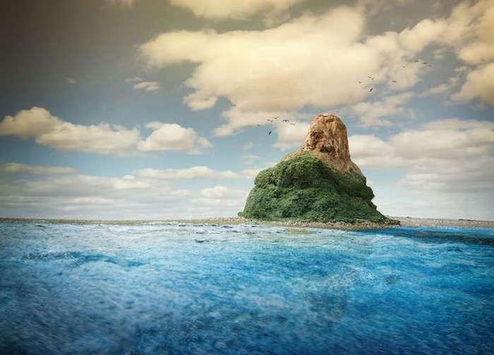 Фотограф моделирует иллюзорный мир, который не отличить от настоящего (20 фото)