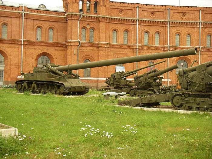 Никем небитый козырь, Российской ствольной артиллерии.