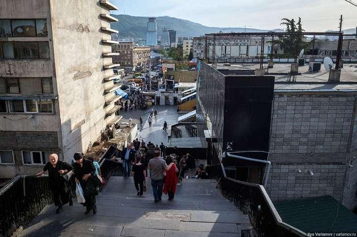 Самое жуткое место Тбилиси
