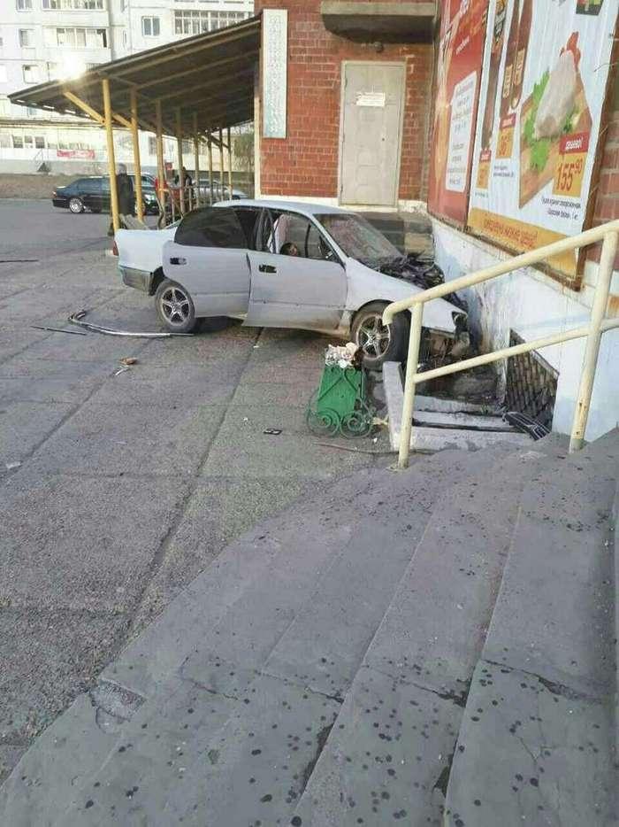 Инцидент в Ангарске. Пьяные механики разбили чужую машину