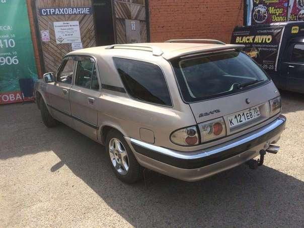 Интересный ГАЗ-31105 универсал
