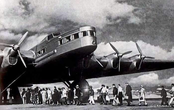 АНТ-20: странный советский самолет (9 фото)