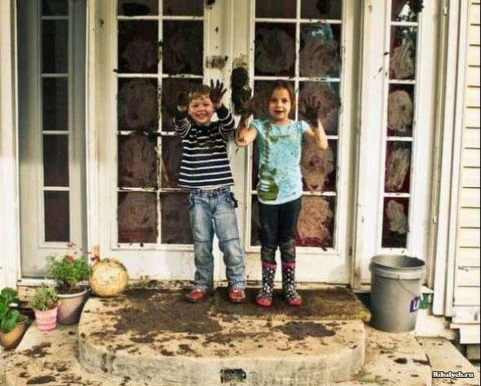 Такие забавные детишки (46 фото)