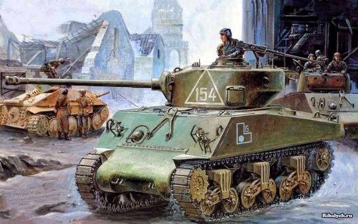 Дмитрий Федорович Лоза: прошел всю Отечественную войну на танках союзников (22 фото)