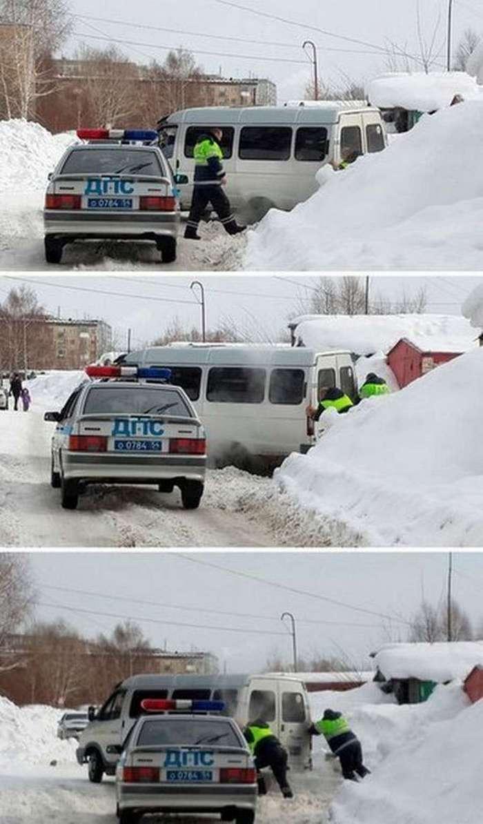 Прикольные фото для автомобилистов (30 фото)