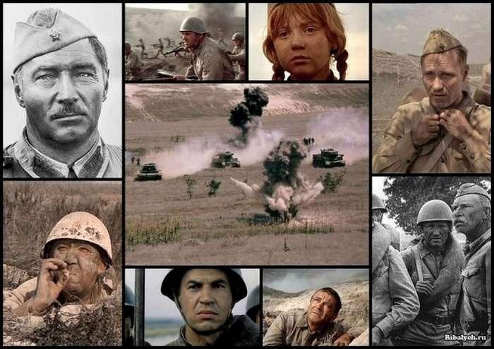 Как создавался фильм &171;Они сражались за Родину&187; (17 фото)