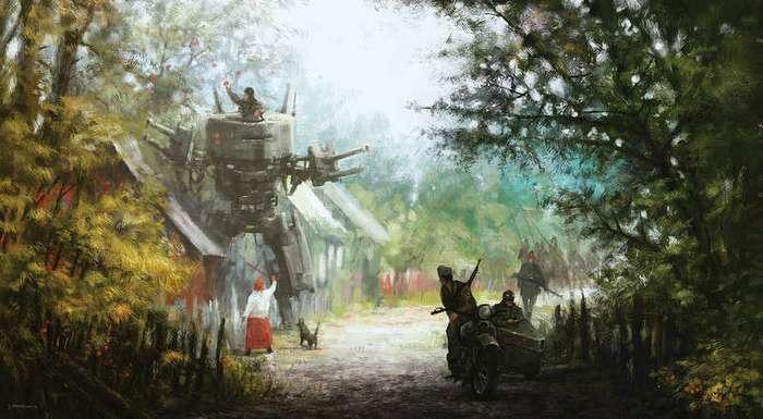 Альтернативный мир 1920-х годов в работах художника Якуба Розальски