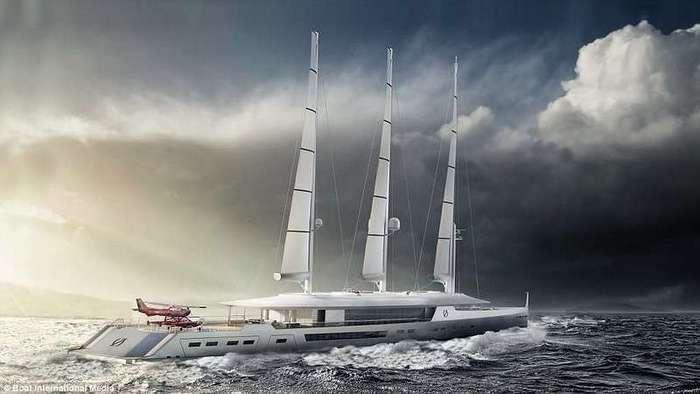 Самые шикарные яхты будущего