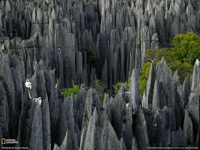 Потусторонние пейзажи нашей планеты