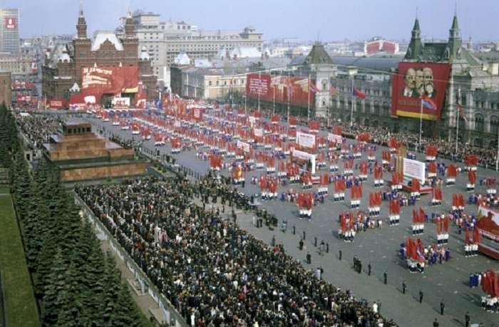 Советский первомай, как отмечали первомай в СССР
