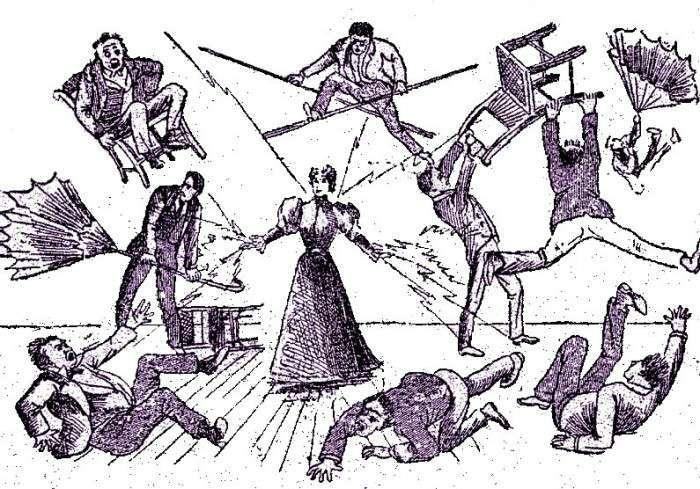 Самая сильная женщина XIX века