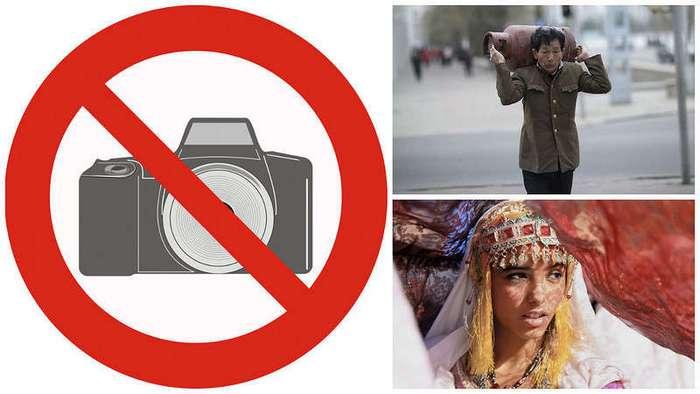 Вещи, которые опасно фотографировать за границей