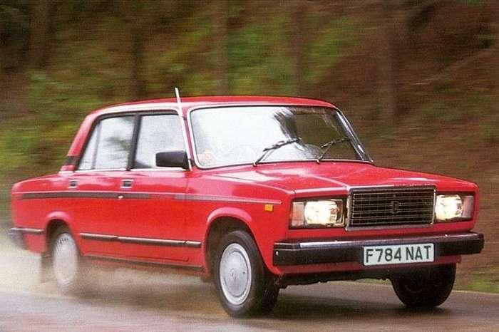 Неизвестные версии тольяттинской -семерки- ВАЗ-2107