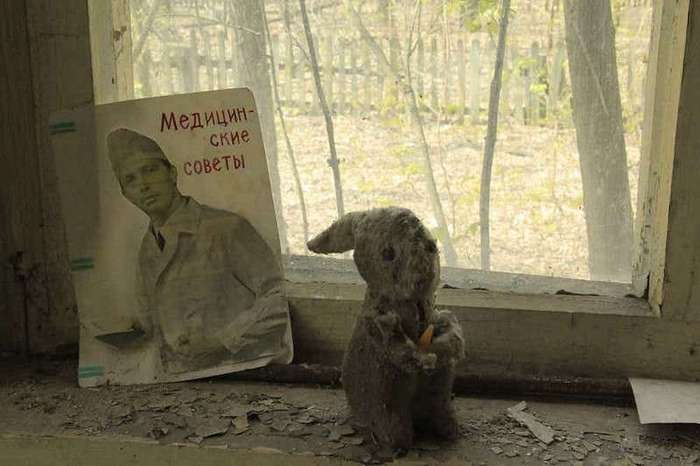 Снимки из Чернобыля, от которых мороз по коже
