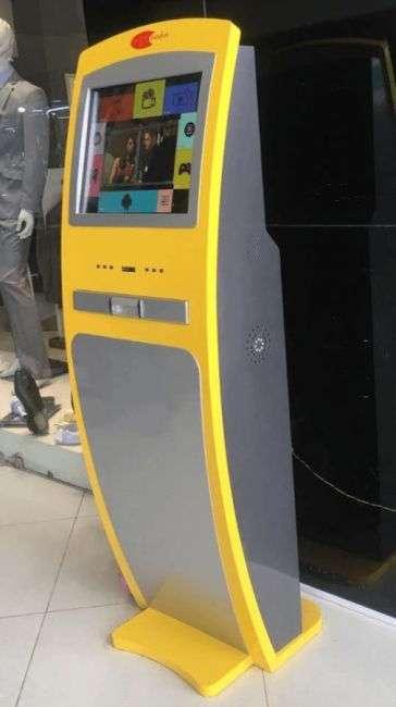 В Эфиопии появились торговые автоматы, позволяющие загружать пиратские фильмы на флешку