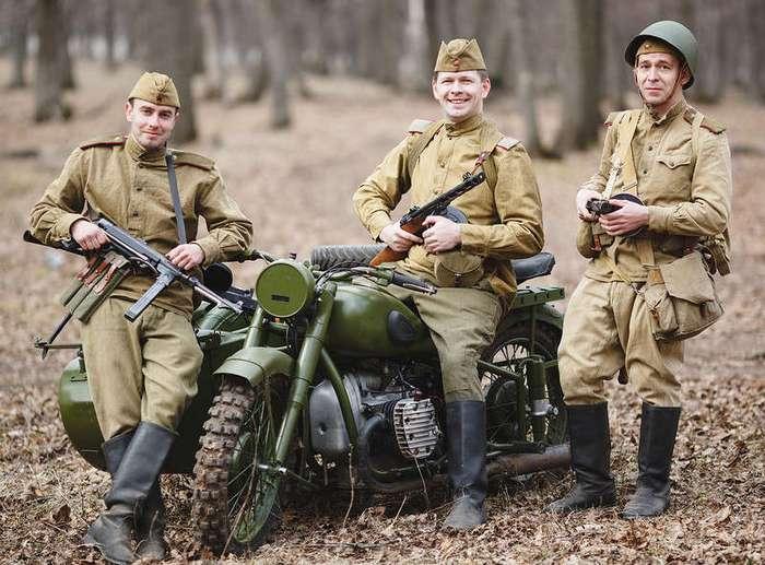 Мотоциклы Второй мировой войны