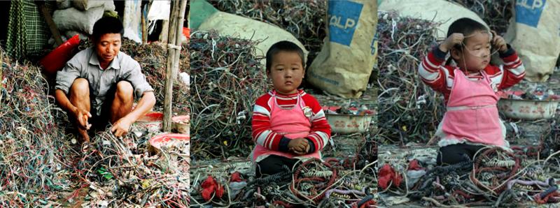 Переработка электронной техники в странах третьего мира