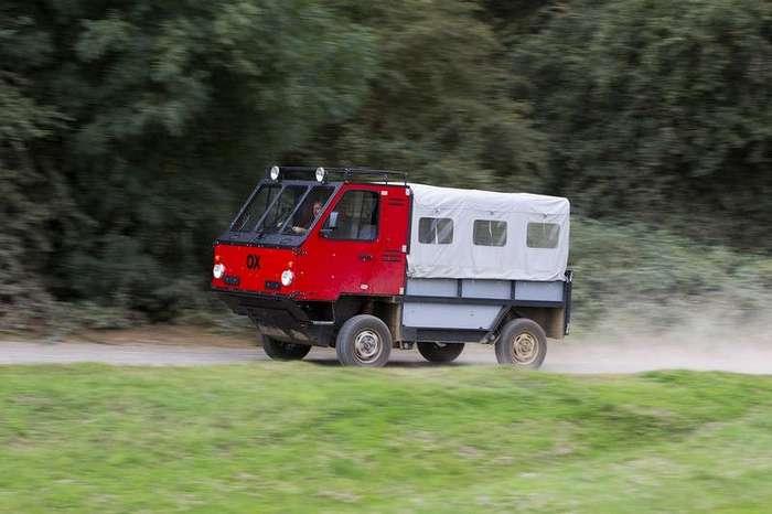Первый в мире грузовик-конструктор для -бедных-