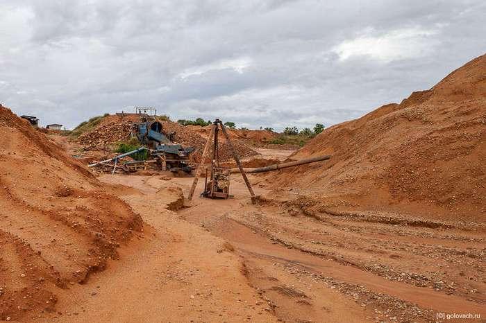 Два дня на сапфировых приисках Мадагаскара