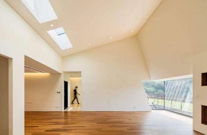 Инновационный дом для большой семьи в Южной Корее