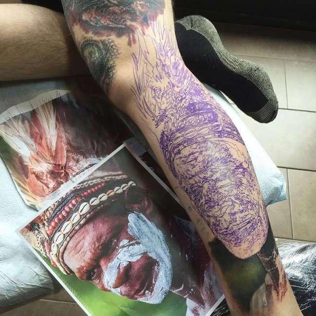 Гиперреалистичные татуировки от Стива Бутчера