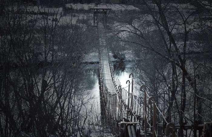 Висячие мосты из российской глубинки