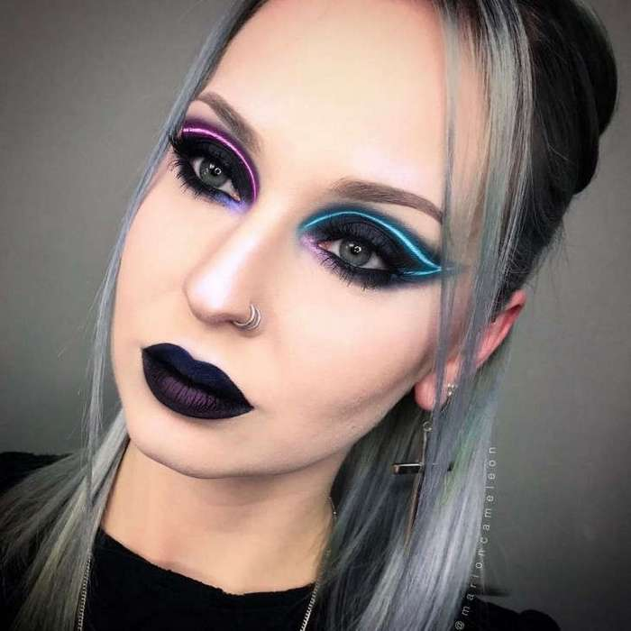 Бьюти-тренд: неоновый макияж