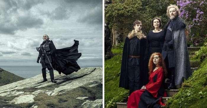 Семейная фотосессия по мотивам -Game Of Thrones-