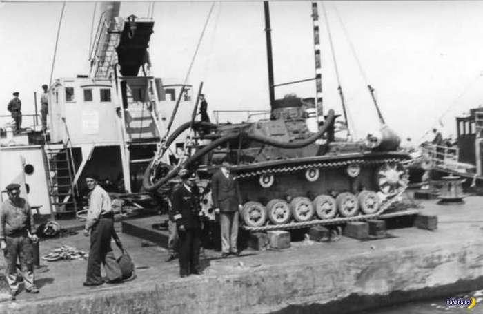 Нацистский Tauchpanzer, который не пригодился