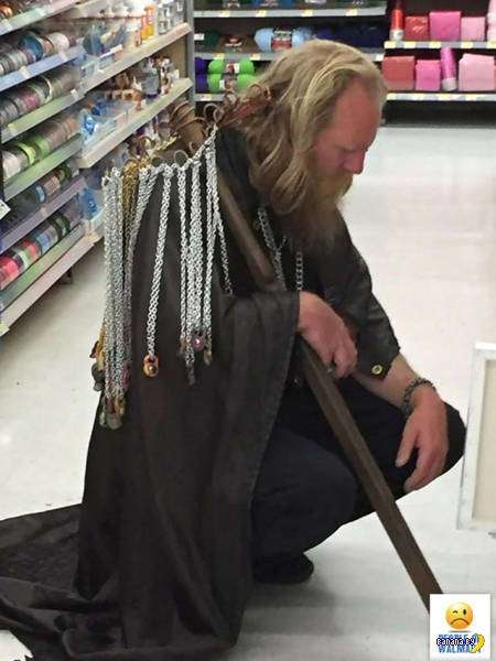 Яркие модники из Walmart - 10