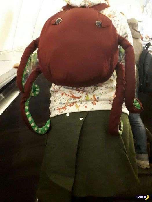 Модники в метро - 2