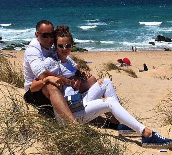 Ксения Дели и её мужичок