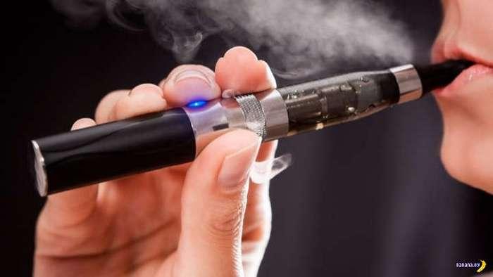 Электронные сигареты наносят большой вред