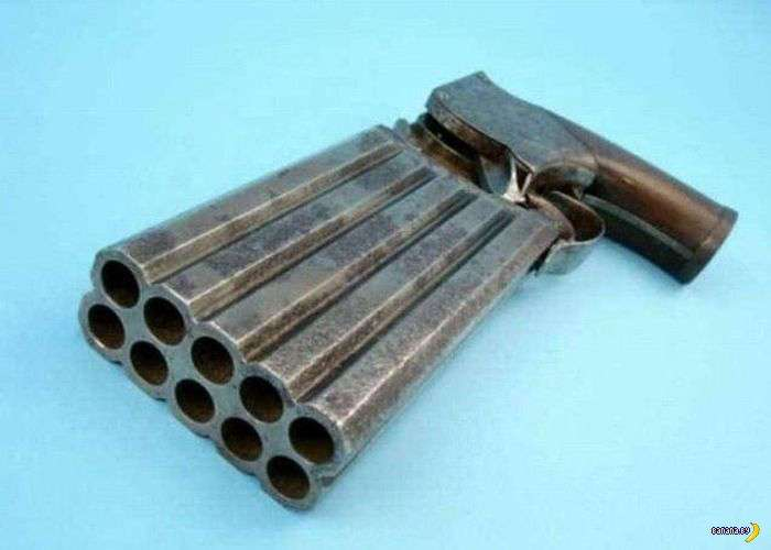 35 пушек, более 100 стволов