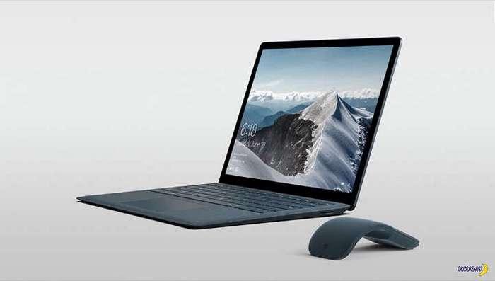 Ноутбук Surface Laptop как бы одноразовый...