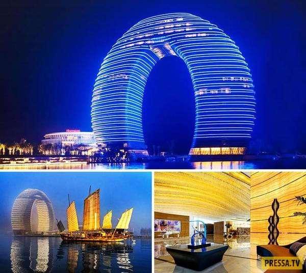 ТОП-20 самых удивительных отелей мира (20 фото)