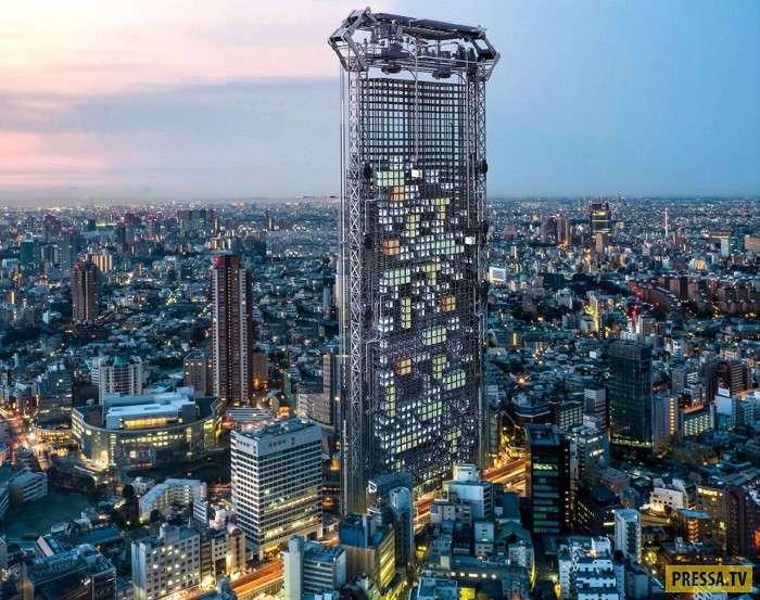 В Токио будут печатать на принтере квартиры (5 фото)