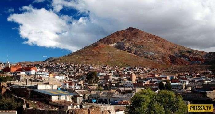 Серро-Рико гора в Андах, погубившая миллионы людей (9 фото)