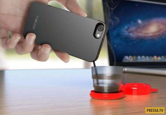 Кофеварка в телефоне (3 фото+1 видео)