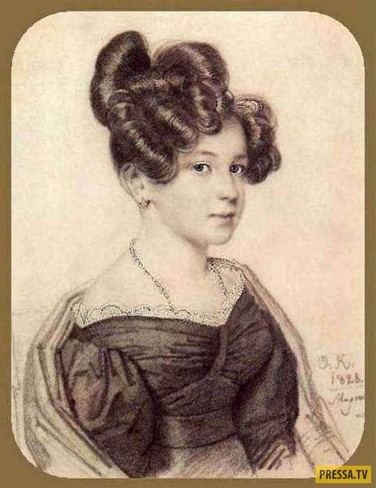 Анна Оленина - муза, отказавшая Пушкину (9 фото)