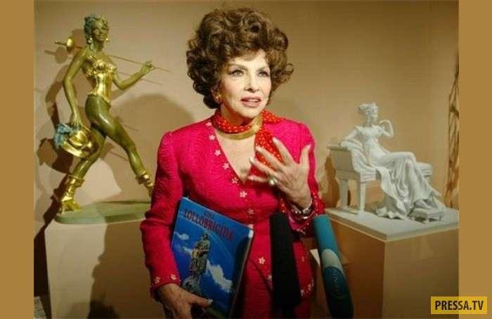 Джина Лоллобриджида - актриса, скульптор, кинорежиссер, фоторепортер (15 фото)
