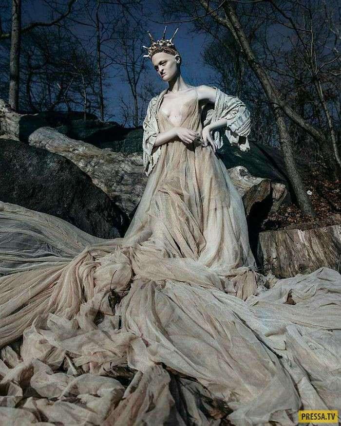 Мелани Гайдос - модель, сломавшая все стереотипы моды (21 фото)