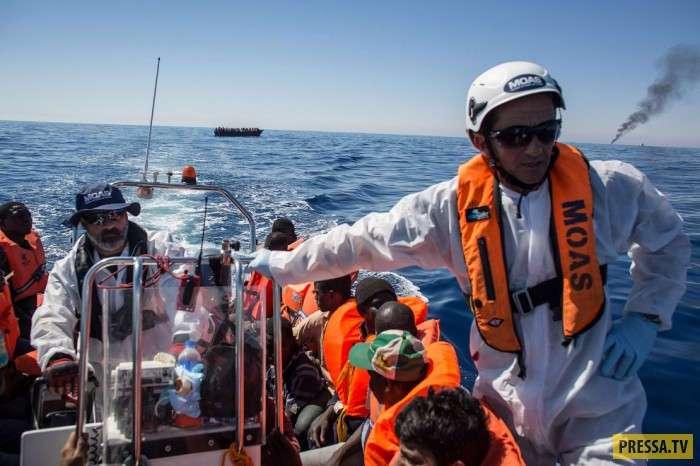 Дорога мигранта из Африки в Европу (17 фото)